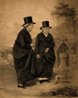 Sarah Ponsonby and Lady Eleanor Butler, known as the the Ladies of Llangollen Wellcome. Wikipedia
